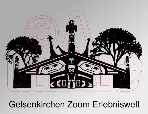 Vektorgrafik Gelsenkirchen Zoom Erlebniswelt