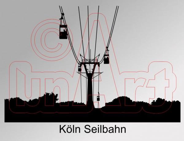 Vektor Köln Seilbahn