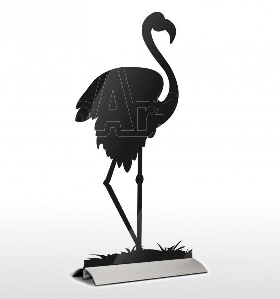 Acrylglas Deko Flamingo