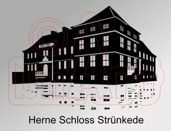 Vektor Herne Schloss Strünkede