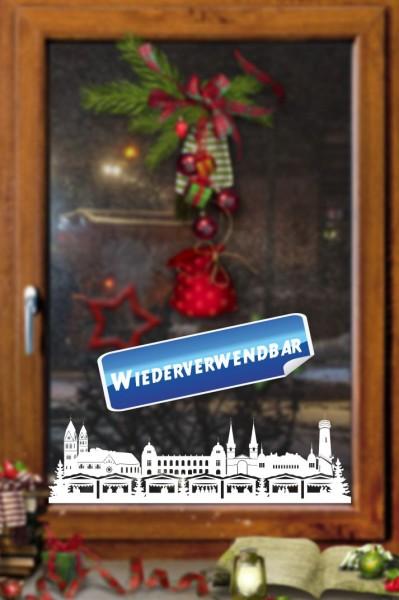 Weihnachts Fensterfolie Wuppertal