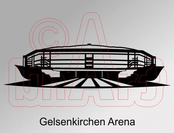 Vektorgrafik Gelsenkirchen Arena
