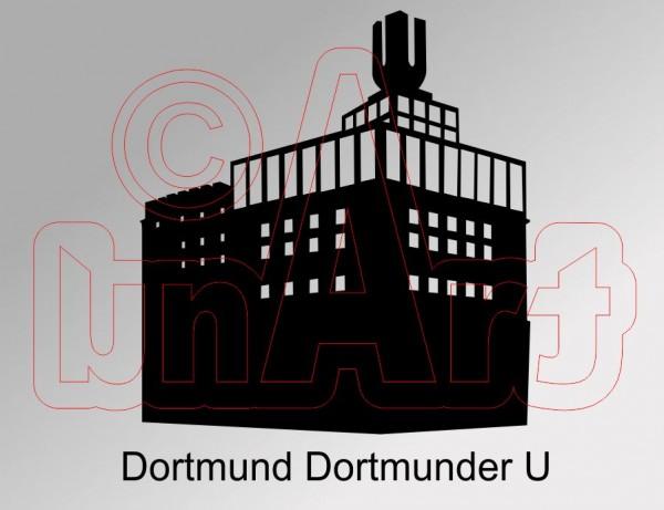 Vektorgrafik Dortmunder U