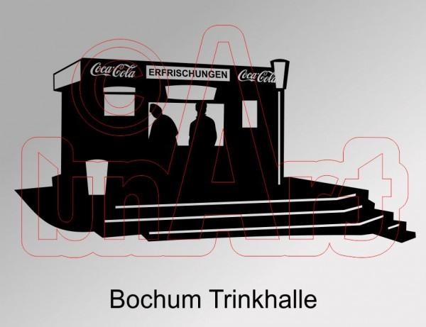 Vektorgrafik Bochum Trinkhalle