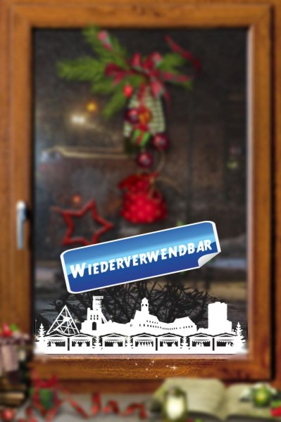 Weihnachts Fensterfolie Bottrop