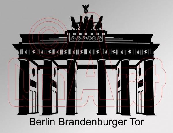 Vektor Berlin Brandenburger Tor