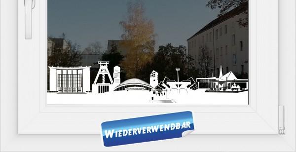 Fensterfolie Skyline Bochum