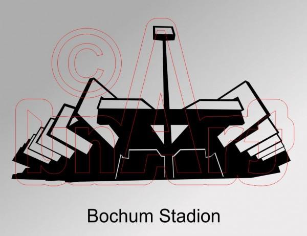 Vektorgrafik Bochum Stadion