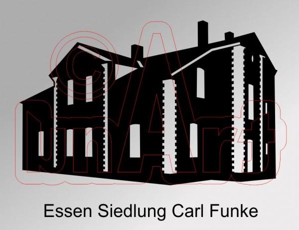 Vektor Essen Siedlung Carl Funke