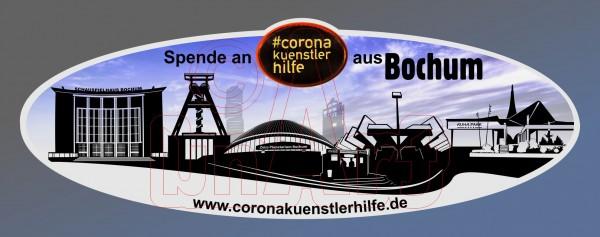 Spenden Aufkleber Bochum