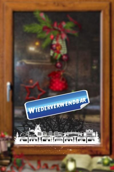 Weihnachts Fensterfolie Duisburg