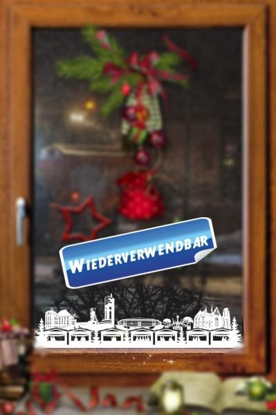 Weihnachts Fensterfolie Gelsenkirchen