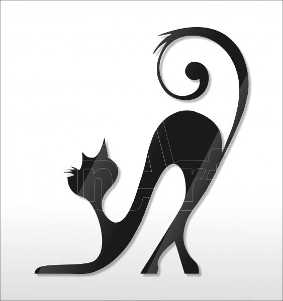 Acrylglas Pin Cat