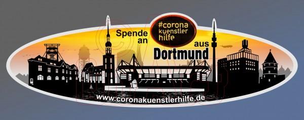 Spenden Aufkleber Dortmund