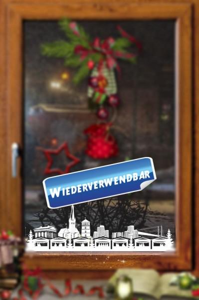 Weihnachts Fensterfolie Duesseldorf