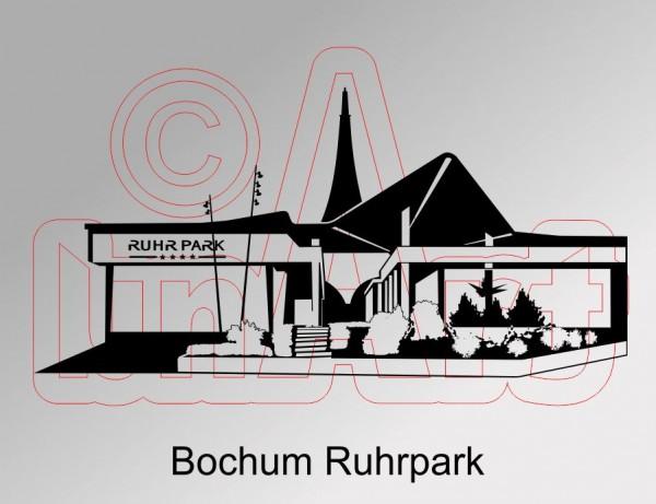 Vektorgrafik Bochum Ruhrpark