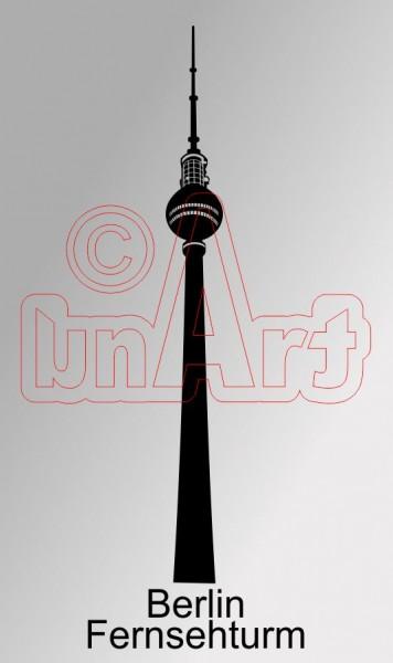 Vektorgrafik Berlin Fernsehturm