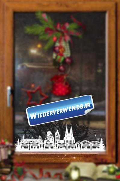 Weihnachts Fensterfolie Koeln