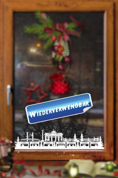 Weihnachts Fensterfolie Berlin