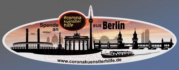 Spenden Aufkleber Berlin