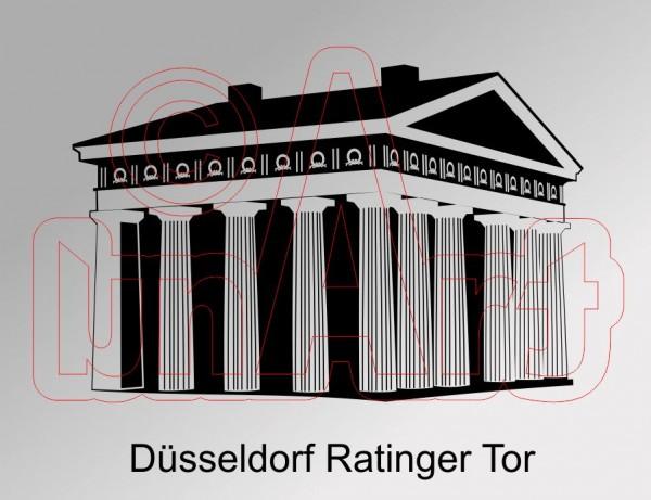 Vektor Düsseldorf Ratinger Tor
