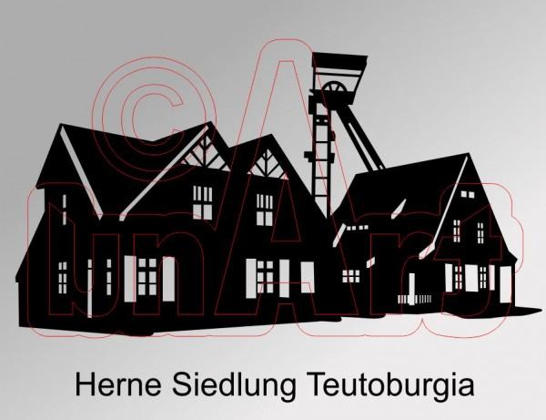 Vektor Herne Siedlung Teutoburgia
