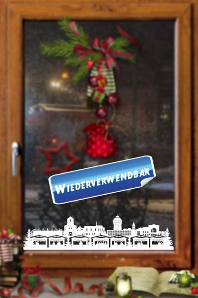 Weihnachts Fensterfolie Moenchengladbach