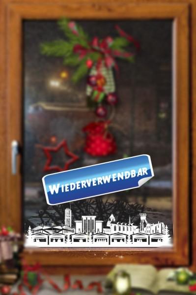 Weihnachts Fensterfolie Essen
