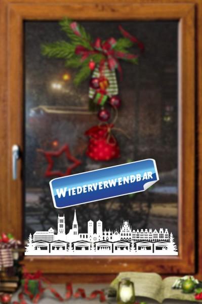 Weihnachts Fensterfolie Muenster