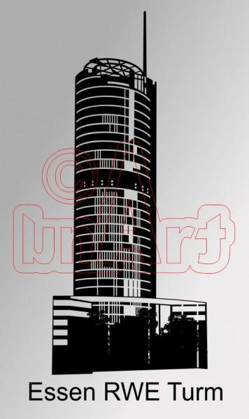 Vektor Essen RWE Turm