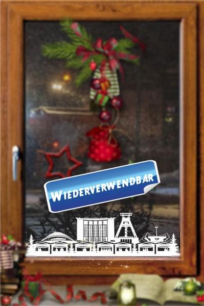 Weihnachts Fensterfolie Bochum