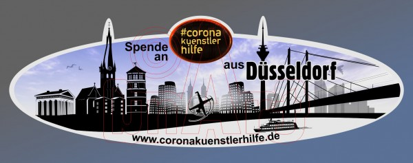 Spenden Aufkleber Düsseldorf
