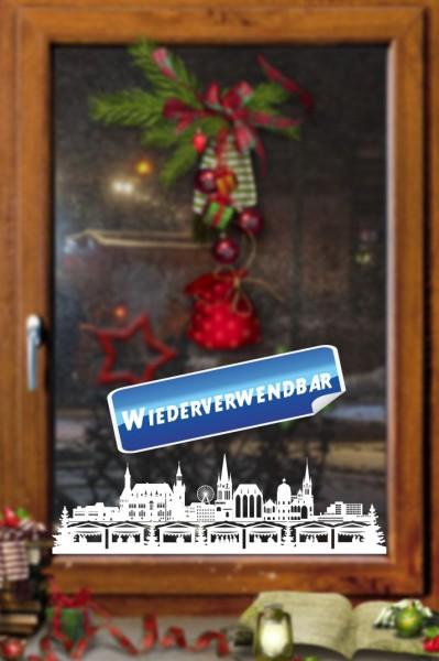 Weihnachts Fensterfolie Aachen