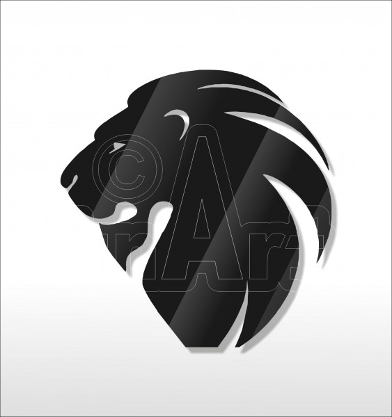 Acrylglas Pin Lion